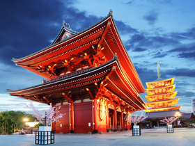 ทัวร์ญี่ปุ่น โตเกียว วัดอาซากุสะ 4 วัน 3 คืน ชมซากุระสวนอุเอโนะ  ล่องเรือโจรสลัดทะเลสาบอาชิ บิน  XW โตเกียว ทัวร์สงกรานต์