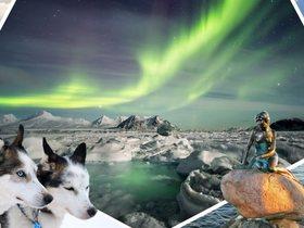 ทัวร์กรีนแลนด์ เดนมาร์ก กรุงโคเปนเฮเก้น คังเกอร์ลุสซวก 12 วัน  9 คืน ล่าหาแสงเหนือ ล่องฟยอร์ดน้ำแข็ง ล่องเรือชมภูเขาน้ำแข็ง  สุนัขลากเลื่อน บิน TG  กรีนแลนด์ Top seller เที่ยววันหยุด วิสาขบูชา ทัวร์ Premium ทัวร์ราคาสุดคุ้ม