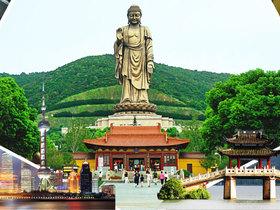 ทัวร์จีน เซี่ยงไฮ้ หังโจว อู๋ซี  5วัน 3 คืน พระใหญ่หลิงซาน (รวมรถราง) ขึ้นตึกเซี่ยงไฮ้ ทาวเวอร์ (ชั้น 118) บิน XJ  เซี่ยงไฮ้ +หลายเมือง