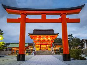 ทัวร์ญี่ปุ่น โอซาก้า นาโกย่า 5 วัน 2 คืน วัดคิโยมิสึ ศาลเจ้าฟูชิมิอินาริ  บิน TG โอซาก้า นาโกย่า วันอาสาฬหบูชา / วันเข้าพรรษา