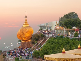 ทัวร์ พม่า ย่างกุ้ง หงสา อินแขวน  3 วัน 2 คืน พักหรู 4 ดาว พระธาตุอินทร์แขวน สักการะ 3 มหาบูชาสถาน บิน PG   ย่างกุ้ง หงสา