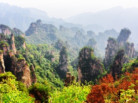 ทัวร์จีน จางเจียเจี้ย 5 วัน 4 คืน  สะพานแก้วที่ยาวที่สุด  เขาเทียนเหมินซาน บิน FD จางเจียเจี้ย ทัวร์ วันแม่