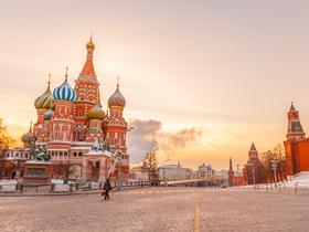 ทัวร์รัสเซีย มอสโคว์ 5 วัน 3 คืน เนินเขาสแปร์โรว์ ล่องเรือ River cruise บิน TG รัสเซีย