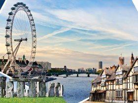 ทัวร์อังกฤษ ลอนดอน 6 วัน 3 คืน พระราชวังบัคกิ้งแฮม สโตนเฮ้นจ์  บิน EY อังกฤษ