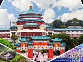 ทัวร์จีน ฉงชิ่ง อู่หลง 4 วัน 3คืน  อุทยานหลุมฟ้าสะพานสวรรค์  อุทยานเขานางฟ้า บิน WE  ฉงชิ่ง +หลายเมือง วันที่ 13 ตุลาคม เนื่องในวันคล้ายวันสวรรคต พระบาทสมเด็จพระปรมินทรมหาภูมิพลอดุลยเดช วันอาสาฬหบูชา / วันเข้าพรรษา ทัวร์จีน ราคาถูก ทัวร์ราคาสุดคุ้ม