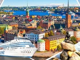 ทัวร์เดนมาร์ก ฟินแลนด์ สวีเดน นอร์เวย์ 8 วัน 5 คืน ลานกระโดดสกีโฮเมนคอเลน เรือสำราญซิลเลียไลน์ บิน QR  เดนมาร์ก นอร์เวย์ สวีเดน ฟินแลนด์ ทัวร์ยุโรปราคาถูก ทัวร์ราคาสุดคุ้ม