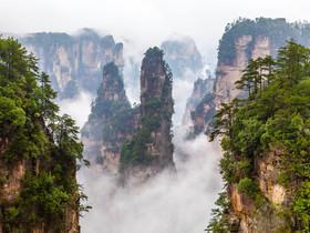 ทัวร์จีน จางเจียเจี้ย 5 วัน 4 คืน  อุทยานแห่งชาติจางเจียเจี้ย สะพานแก้ว บิน  FD จางเจียเจี้ย