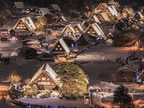 ทัวร์ญี่ปุ่น โอซาก้า ทาคายาม่า 6 วัน 4 คืน หมู่บ้านมรดกโลกชิราคาวาโกะ  วัดน้ำใส บิน XJ โอซาก้า ทาคายาม่า