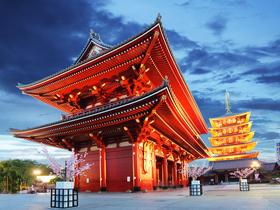 ทัวร์ญี่ปุ่น โตเกียว 5 วัน 3 คืน  สวนเมล่อน ล่องเรือทะเลสาบอาชิ บิน TG โตเกียว