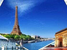 ทัวร์ฝรั่งเศส ปารีส 7 วัน4 คืน พระราชวังแวร์ซายน์ ล่องเรือบาโตมุซ บิน SQ ฝรั่งเศส