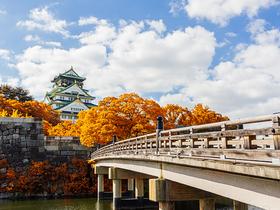 ทัวร์ญี่ปุ่น โอซาก้า โตเกียว 7 วัน 5 คืน ปราสาทโอซาก้า สวนป่าไผ่ นั่งรถไฟชินคันเซ็น  บิน TG  โอซาก้า โตเกียว