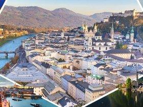 ทัวร์ยุโรปตะวันออก เยอรมัน ออสเตรีย เช็ก สโลวัค 9 วัน 6 คืน พระราชวังเชินบรุนน์ จัตุรัสมาเรียนพลาสท์ บิน EK เยอรมัน เช็ค ออสเตรีย สโลวัค ฮังการี วันอาสาฬหบูชา / วันเข้าพรรษา ทัวร์ยุโรปตะวันออก ออสเตรีย ฮังการี เช็ก สโลวาเกีย