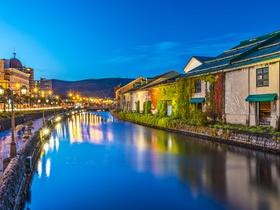 ทัวร์ญี่ปุ่น ฮอกไกโด 6 วัน 4 คืน นั่งกระเช้าไฟฟ้าสู่ยอดเขาเท็งกุ สวนดอกไม้ชิคิไซโนะโอกะ บิน TG  ฮอกไกโด ทัวร์ วันแม่