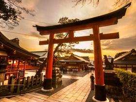 ทัวร์ญี่ปุ่น โอซาก้า เกียว โต  5 วัน 3 คืน ปราสาทโอซาก้า ศาลเจ้าฟูชิมิอินาริ ป่าไผ่  บิน XJ  โอซาก้า เกียวโต วันที่ 13 ตุลาคม เนื่องในวันคล้ายวันสวรรคต พระบาทสมเด็จพระปรมินทรมหาภูมิพลอดุลยเดช เที่ยววันหยุด ปิยมหาราช ทัวร์โอซาก้า / ทัวร์ญี่ปุ่น โตเกียว โอซาก้า ทัวร์ราคาสุดคุ้ม