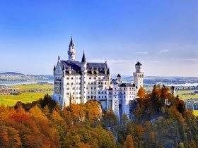 ทัวร์เยอรมัน แฟรงเฟิร์ต 10 วัน 7 คืน  ปราสาทนอยสวานสไตล์  ยอดเขาซุกสปิตเซ่  บิน EK  เยอรมัน ทัวร์ Premium ทัวร์ราคาสุดคุ้ม