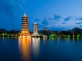 ทัวร์จีน กุ้ยหลิน หยางซั่ว  4 วัน 3 คืน เจดีย์เงินเจดีย์ทอง บิน CZ  กุ้ยหลิน +หลายเมือง วันที่ 13 ตุลาคม เนื่องในวันคล้ายวันสวรรคต พระบาทสมเด็จพระปรมินทรมหาภูมิพลอดุลยเดช Top seller ทัวร์จีน ยอดนิยม ทัวร์ วันแม่ ทัวร์ราคาสุดคุ้ม