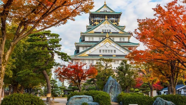 ทัวร์ญี่ปุ่น โอซาก้า 5 วัน 3 คืน ปราสาทโอซาก้า นั่งรถไฟสายโรแมนติค (ช่วงใบไม้เปลี่ยนสี) บิน ไทยแอร์เอเชียเอกซ์