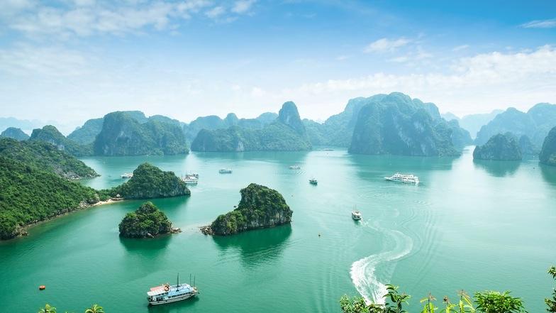ทัวร์เวียดนาม ฮานอย ฮาลอง 4 วัน 3 คืน ฮาลอง เบย์  ขึ้นกระเช้า2ชั้นใหญ่ นั่งชิงช้าสวรรค์ ชมวิวเมืองฮาลอง บิน Thai AirAsia