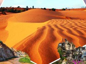 ทัวร์เวียดนาม ดาลัด โฮจิมินท์  มุยเน่  4 วัน 3 คืน ตะลุยทะเลทรายมุยเน่  นั่งรถรางชมน้ำตกดาตันลา บิน VN โฮจิมินห์