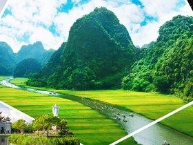 ทัวร์เวียดนาม ฮานอย ฮาลอง นิงบิงห์ 3 วัน 2 คืน สุสานประธานาธิบดี โฮจิมินห์  ล่องเรือฮาลองบกชมธรรมชาตินิงก์บิงห์ บิิน VJ ฮานอย ฮาลอง