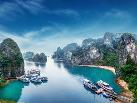 ทัวร์เวียดนาม ฮานอย ฮาลอง  3 วัน 2 คืน ขึ้นกระเช้า QUEEN 2ชั้น  ล่องเรืออ่าวฮาลองเบย์ บิน VJ  ฮานอย ฮาลอง