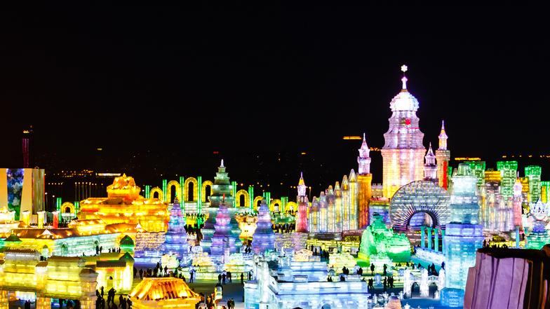 ทัวร์จีน ฮาร์บิ้น เสิ่นหยาง 7 วัน 5 คืน ชมเทศกาลโคมไฟน้ำแข็งปี 2018  บิน นกสกู๊ต