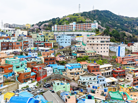 ทัวร์เกาหลี เมืองพูซาน 5 วัน 3 คืน อุทยานสวนริมทะเลแทจองแด ขึ้นกระเช้าชมวิวบนยอดเขามีรุกซาน  บิน KE  พูซาน