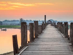 ทัวร์พม่า มัณฑะเลย์ มิงกุน อมรปุระ 3 วัน 2 คืน ร่วมพิธีล้างหน้าพระพักตร์พระมหามัยมุณี ล่องแม่น้ำอิระวดี บิน FD  มัณฑะเลย์ อมรปุระ