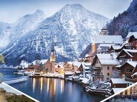 ทัวร์ยุโรป อิตาลี ออสเตรีย เยอรมัน สวิส 7 วัน 4 คืน ปราสาทนอยชวานสไตน์ หมู่บ้านฮัลสตัท (Option Titlis) บิน EK  อิตาลี ออสเตรีย เยอรมัน สวิตเซอร์แลนด์