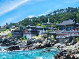 ทัวร์เกาหลี พูซาน 5 วัน 3 คืน นั่งกระเช้าลอยฟ้า สะพานเดินทะเล Sky Walkway  บิน KE  พูซาน