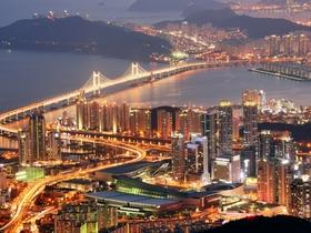 ทัวร์เกาหลี ปูซาน 5 วัน 3 คืน  วัดดองฮวาซา หอคอยปูซาน  สวนสนุก E-WORLD บิน KE ปูซาน