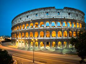 ทัวร์ อิตาลี กรุงโรม  8 วัน 5 คืน  เข้าชมสนามกีฬาโคลอสเซี่ยม  ถ้ำบลูก็อตโต บิน QR  อิตาลี