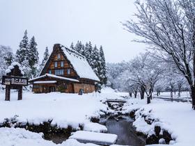 ทัวร์ญี่ปุ่น โอซาก้า ทาคายาม่า 5 วัน 3 คืน สนุกสนานกับกิจกรรม ณ ลานสกี หมู่บ้านชิราคาวาโกะ เทศกาลประดับไฟ NABANA NO SATO บิน XJ  โอซาก้า ทาคายาม่า