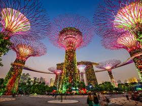 ทัวร์สิงคโปร์ 3 วัน 2 คืน แลนด์มาร์คแห่งใหม่ของสิงคโปร์ Marina Bay Sands สวนพฤกษศาสตร์ 'GARDEN BY THE BAY'  บิน FD สิงคโปร์