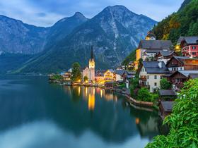 ทัวร์ยุโรปตะวันออก ออสเตรีย เช็ก สโลวัค ฮังการี 8 วัน 5 คืน พระราชวังเชินบรุนน์ หมู่บ้านมรดกโลก 'ฮัลล์สตัทท์' บิน BR ออสเตรีย ฮังการี สโลวัค สาธารณรัฐเช็ก