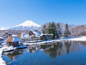 ทัวร์ญี่ปุ่น โตเกียว  5 วัน 3 คืน ลานสกี ฟูจิเท็น  หมู่บ้านโอชิโนะฮัคไค บิน  XJ โตเกียว