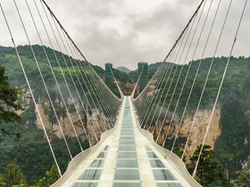 ทัวร์จีน จางเจียเจี้ย 4 วัน 3 คืน สะพานแก้วยาวที่สุดโลก  เทียนเหมินซาน  ถ้ำประตูสวรรค์  บิน WE  จางเจียเจี้ย ทัวร์จีน ยอดนิยม