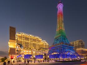 ทัวร์มาเก๊า จูไห่  3 วัน 2 คืน หอไอเฟล ณ โรงแรม Parisian Hotel  วัดผู่โถ่วซือ  บิน FD มาเก๊า จูไห่
