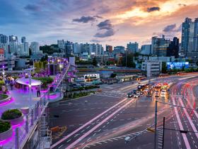 ทัวร์เกาหลี กรุงโซล 5 วัน 3 คืน สวนสนุก EVERLAND สะพานลอยฟ้า Seoullo 7017 *ชมซากุระ เฉพาะช่วงดอกไม้บาน บิน LJ กรุงโซล