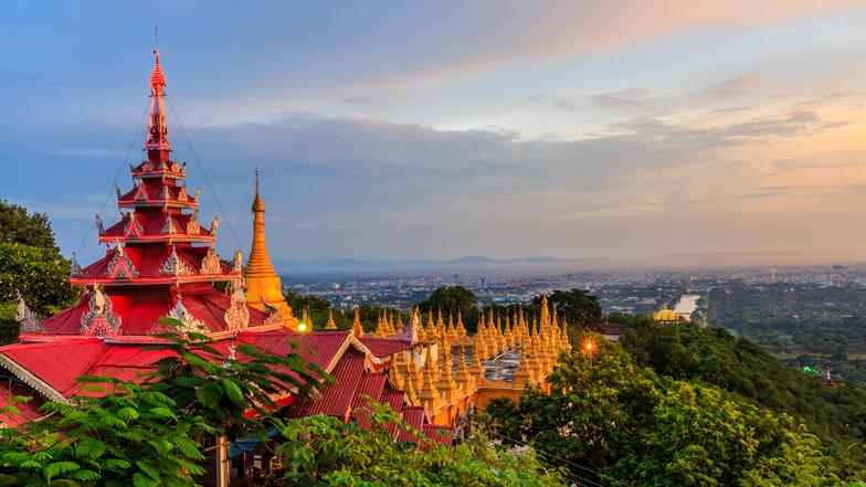 ทัวร์พม่า มัณฑะเลย์ อมรปุระ 3 วัน 2 คืน ร่วมพิธีล้างหน้าพระพักตร์พระมหามัยมุณี พระราชวังมัณฑะเลย์ บิน Thai AirAsia