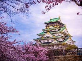 ทัวร์ญี่ปุ่น โอซาก้า  5 วัน 2 คืน ปราสาทโอซาก้า วัดโทไดจิ  บิน JL โอซาก้า