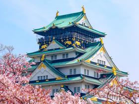 ทัวร์ญี่ปุ่น โอซาก้า เกียวโต 4 วัน  สะพานโทเก็ตสึเคียว สวนป่าไผ่  บิน TR โอซาก้า เกียวโต