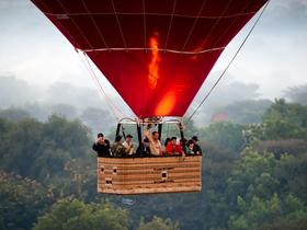 ทัวร์พม่า ย่างกุ้ง  1 วัน  ขึ้นบอลลูน ชมวิวเมืองย่างกุ้ง  บิน  ย่างกุ้ง