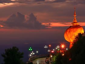 ทัวร์พม่า ย่างกุ้ง หงสา 4 วัน 3 คืน สักการะพระธาตุอินทร์แขวน ณ เมืองไจ้โท  พระมหาเจดีย์ชเวดากอง บิน PG ย่างกุ้ง หงสา