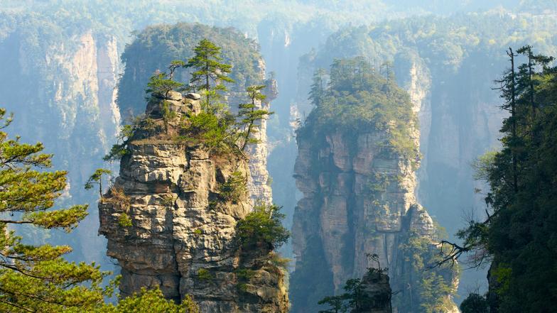 ทัวร์จีน ฉางซา จางเจียเจี้ย 4 วัน 3 คืน เขาอวตาร สะพานแก้วจางเจียเจี้ย บิน ไทยสมายล์