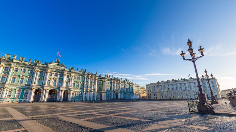 ทัวร์รัสเซีย มอสโคว์ เซ้นต์ปีเตอร์สเบิร์ก 7 วัน 5 คืน พระราชวังนิโคลัส พระราชวังเครมลิน  ยอดเขาสแปร์โรว์ฮิล  บิน การบินไทย
