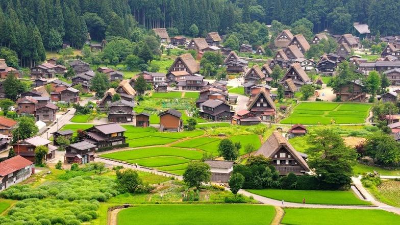 ทัวร์ญี่ปุ่น โตเกียว โอซาก้า 5 วัน 3 คืน หมู่บ้านมรดกโลกชิราคาวาโกะ หมู่บ้านโอชิโนะฮักไก บิน นกสกู๊ต