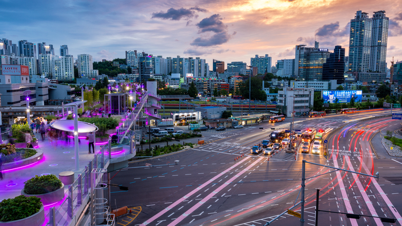 ทัวร์เกาหลี กรุงโซล 5 วัน 3 คืน สวนสนุกเอเวอร์แลนด์ สวนลอยฟ้า Seoullo 7017 บิน การบินไทย