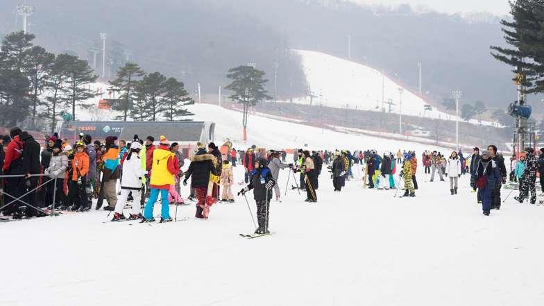 ทัวร์เกาหลี อินชอน โซล 5 วัน 3 คืน ร่วมเทศกาลตกปลาน้ำแข็ง นอนสกีรีสอร์ท1คืน บิน Jin Air